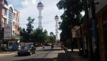 Menara  Masjid Raya Bandung, Ramai Saat Ramadan