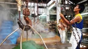 Pabrik Tahu di Cibuntu Bandung. |Foto serbabandung.com #serbabandung