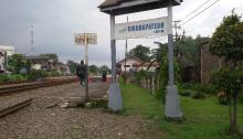 Cikudapateh, Stasiun yang Dekat dengan Pasar Kosambi
