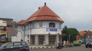 Gedung Pensil (Gedung Danareksa) Simpang Lima Bandung | Foto serbabandung.com