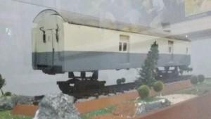 Replika kantro pos kereta api di Museum Pos Jalan Cilaki Bandung | Foto serbabandung.com