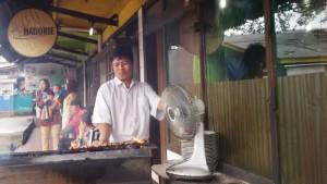 Sate Hadori di Kompleks Terminal St Hall Jalan Kebonjati |Foto serbabandung.com #serbabandung