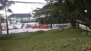 Waterfront Park di Jalan Cikapundung Timur Bandung. | Foto serbabandung.com
