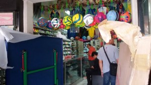 Toko Olahraga Barcelona Jalan Ahmad Yani Bandung. | Foto serbabandung.com #serbabandung