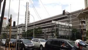 Hotel Savoy Homann di Jalan Asia Afrika Bandung. | Foto serbabandung.com #serbabandung