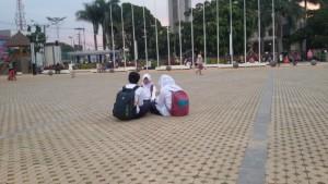Alun-alun Ujungberung Bandung. | Foto serbabandung.com #serbabandung