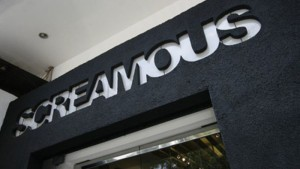 Distro Screamous Jalan Sultan Agung No. 9 Bandung. | Foto screamous.com