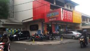 Toko Olahraga Chioda di Jalan Kejaksaan, Kota Bandung. | Foto serbabandung.com #serbabandung