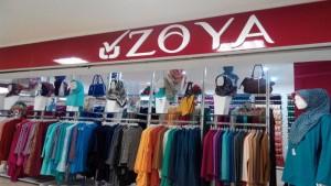 Gerai Zoya di Baltos Bandung. | Foto @ZoyaLovers