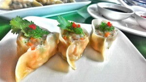 Kuotie, menu dimsum di Harris Cafe Bandung. | Foto Harris Cafe