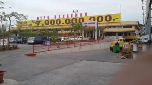 Depo Bandung, Jalan Soekarno Hatta, Cipamokolan, Kota Bandung. | Foto serbabandung.com #serbabandung