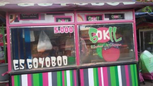 Goyobod Kiliningan, Jalan Kliningan, Bandung. | Foto serbabandung.com #serbabandung