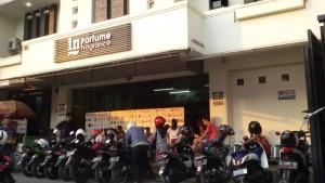 In Parfume, Jalan Banteng, Bandung. | Foto serbabandung.com #serbabandung