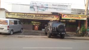 Nasi Jamblang Sadakeling, Jalan Sadakeling, Bandung. Foto serbabandung.com #serbabandung