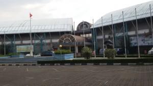 Arena Olahraga Bikasoga lapangan bulu tangkis