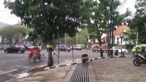 Rumah Kembar di Jalan Malabar. | Foto serbabandung.com #serbabandung