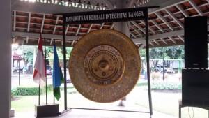 Gong Integritas yang disimpan di Pendopo Bandung. | foto serbabandung.com