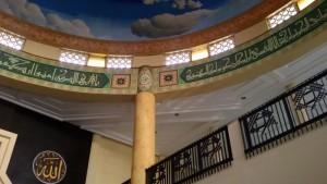 Ornamen Masjid Agung Buahbatu, Jalan Margacinta, Bandung. | Foto serbabandung.com #serbabandung