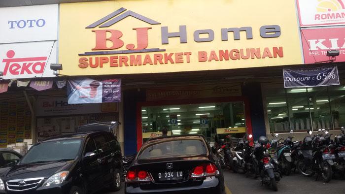 BJ Home Tempat Belanja Komplet Bahan Bangunan di IBCC