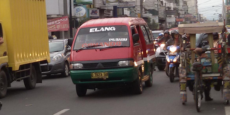Angkot di Bandung Sudah Ada Sejak 1970 dan Miliki Kekhasan