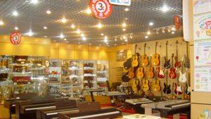 toko alat musik di Bandung