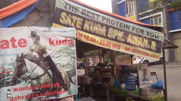 Sate Kuda Lezat di Jalan Banteng dan di Jalan Kalidam