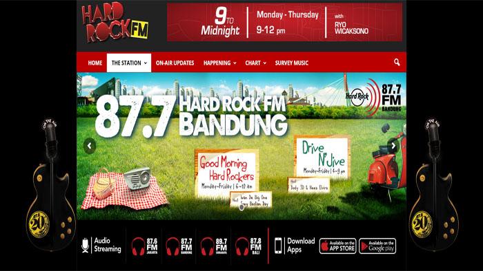 Hard Rock FM, Buat yang Smart, Dinamis, Urbanis, dan Visioner