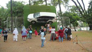 wisata anak Taman Lalu Lintas Ade Irma Suryani