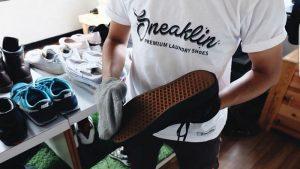 Laundry sepatu Sneakline
