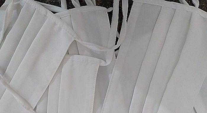 perajin masker kain