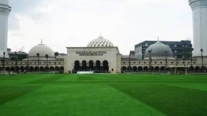Masjid Raya Bandung Provinsi Jawa Barat. | Foto serbabandung.com #serbabandung