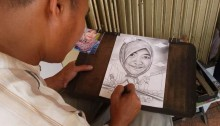 Pelukis Jalanan, Satu Lukisan Ada yang Harganya Rp 200.000