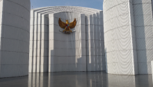 Monumen Perjuangan di jalan dipati ukur
