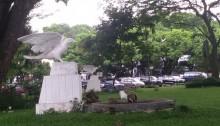 Patung Sepasang Merpati, Di Sini Pernah Dilepas 800 Merpati