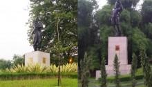 Dua Patung di Kawasan Viaduk, Patung Karya Sunaryo