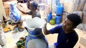 Keramik Jayanti Kiaracondong. | Foto bandungekspres.co.id