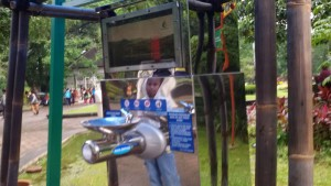 Keran air lansung minum di Taman Balai Kota Bandung. | Foto serbabandung.com #serbabandung