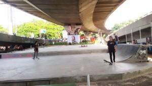 Kolong Jembatan Layang Pasupati di Jalan Tamansari, Balubur, Bandung | Foto serbabandung.com