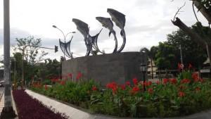 Patung Ikan Mas
