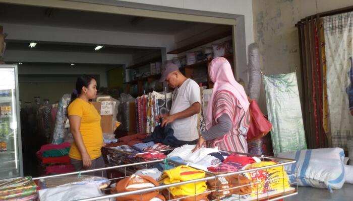 Jins Jalan Tamim, Lokasinya Tak Jauh dari Pasar Baru