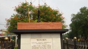 Monumen Perjuangan di Jalan Lengkong Besar Kota Bandung. | Foto serbabandung.com #serbabandung