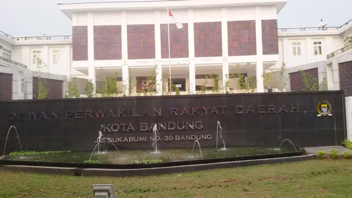 Gedung DPRD Kota Bandung yang Ditempati 17 Juli 2014