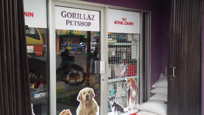 Pet shop di Bandung