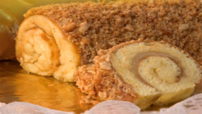 toko kue enak Nougat Roll