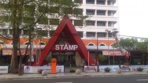 Stamp FO di Jalan Martadinata (Riau) No 63, Kota Bandung.   Foto serbabandung.com #serbabandung