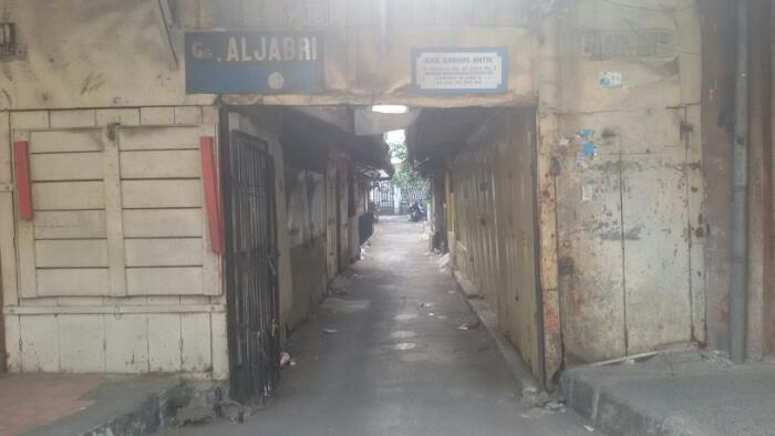 Gang Aljabari, Gang yang Menyimpan Cerita di Alkateri