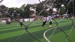 Lapngan futsal Taman Persib Bandung. | Foto serbabandung.com #serbabandung