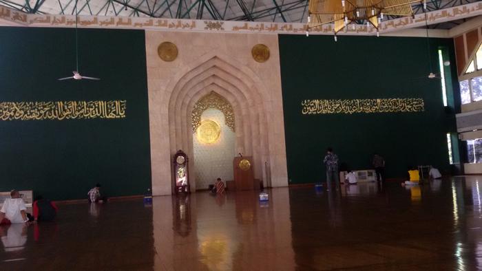 Masjid Agung Al Ukhuwwah, Masjid Tanpa Penyangga