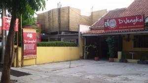 Rumah Makan d'Jengkol, Jalan Kh. Ahmad Dahlan (Jl.Banteng), Bandung. | Foto serbabandung.com #serbabandung