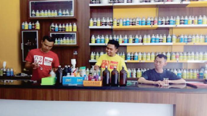 penjual refill parfum
